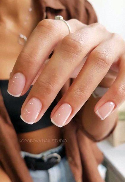 Raw Natural Nail Ideas For Women