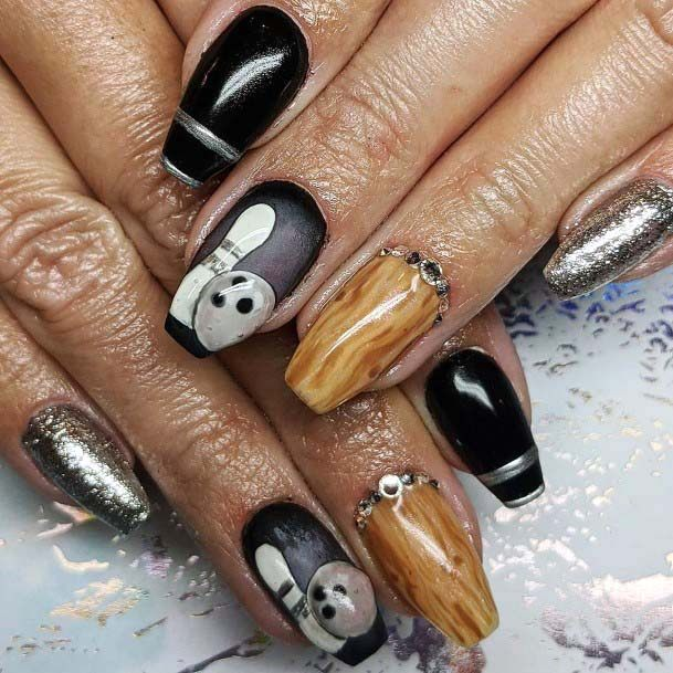 Realistic Sport Nails For Women