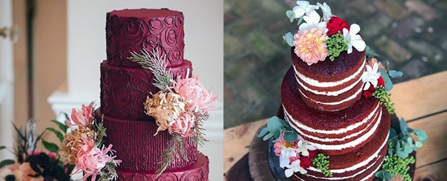 Top 80 Best Red Velvet Wedding Cake Designs – Red Chocolate Cake Ideas