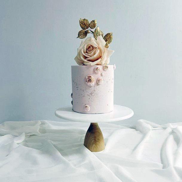 Refined Wood Wedding Cake Stand Women