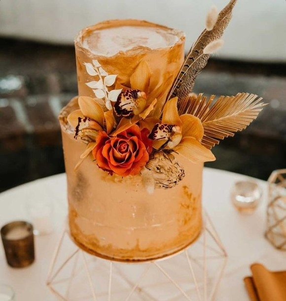 Regal 2 Tier Wedding Cake