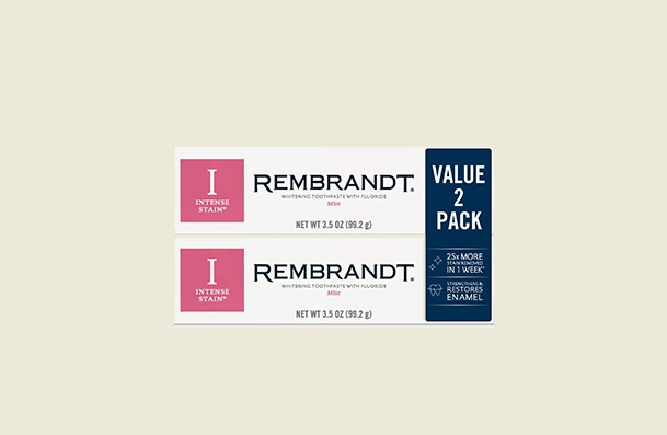 Rembrandt Intense Stain Whitening Toothpaste For Women