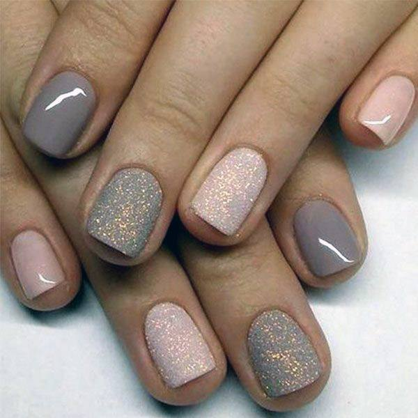 Restrained Short Nails Women