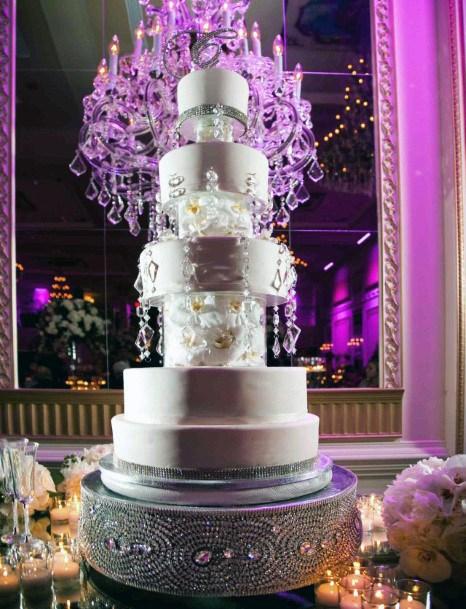 Rhinestone Art Cake Stand Wedding Women