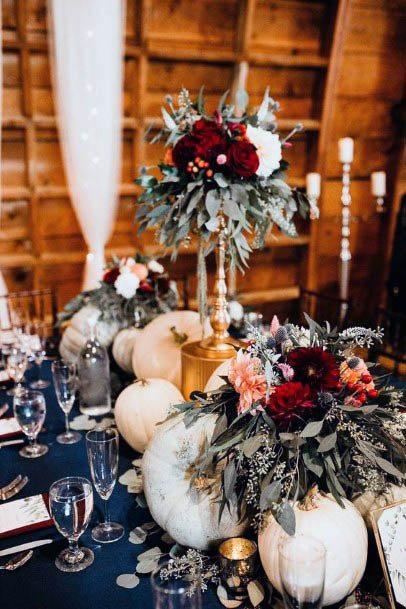 Rich Rustic Wedding Flowers