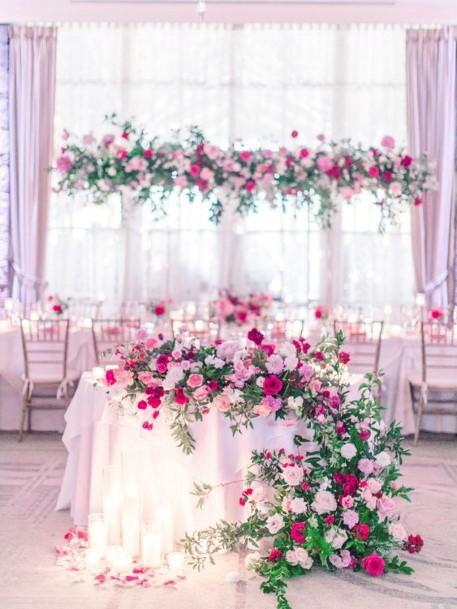 Romantic Pink May Wedding Flowers