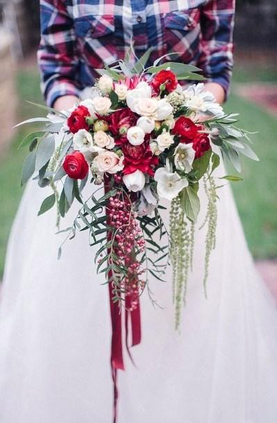 Rose Group Christmas Wedding Flowers