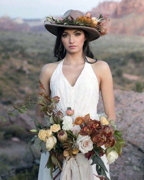 Roses Boho Wedding Flowers