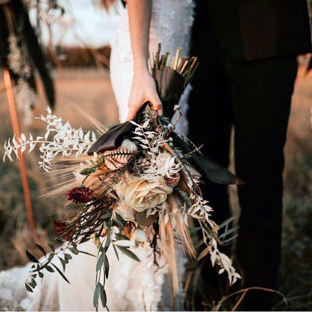 Rustic Wedding Flower Bouquet