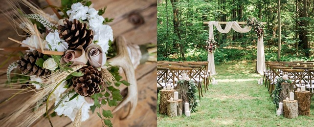 Top 100 Best Rustic Wedding Ideas – Nature Inspired Decorations