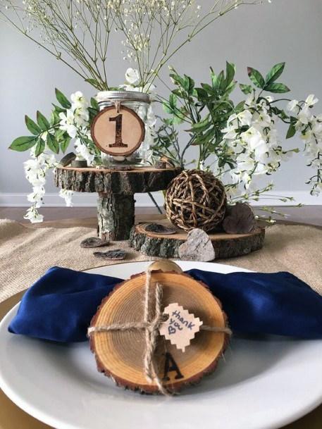 Rustic Wedding Ideas Wooden Elements Inspiration