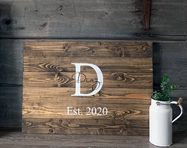 Rustic Wedding Ideas Wooden Signs