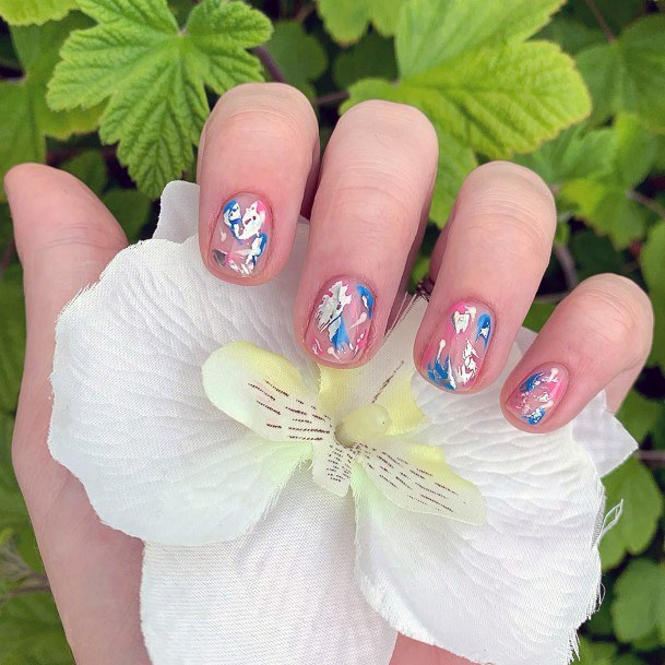 Shiny Colorful Nail Ideas For Women