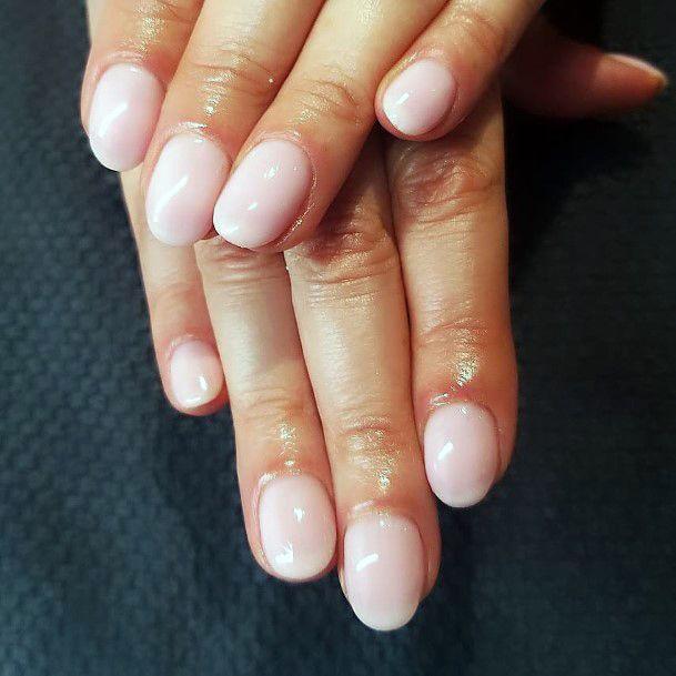 Shiny Natural Nail Ideas For Women