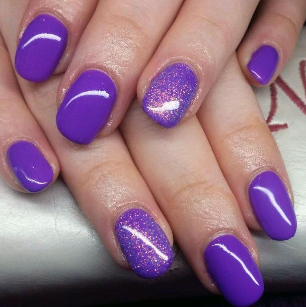 Purple Nail Designs Awesome 24 Purple Nail Art Designs Ideas 201