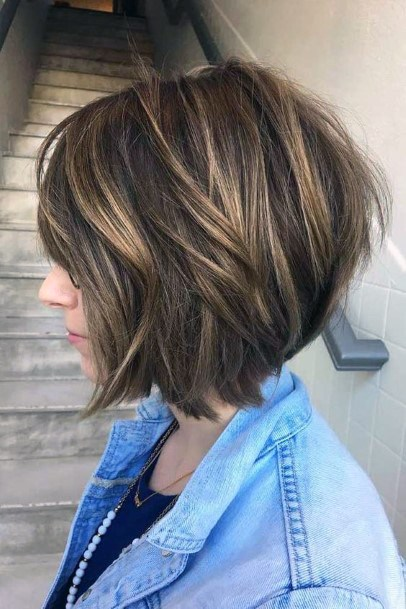 Short Brown Hairstyles And Haircuts Women For Short Hair
