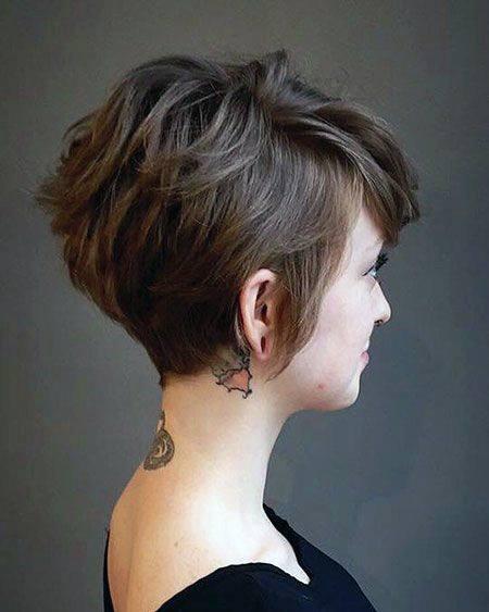 Short Brown Hairstyles Bob Women