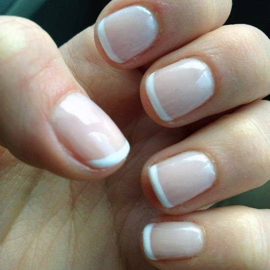 Short French Mani For Women
