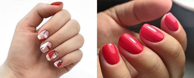 Top 50 Best Short Red Nail Ideas For Women – Hot Crimson Inspiration