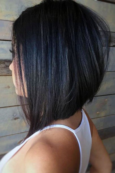 Simple Asymmetrical Pixie Women Hair