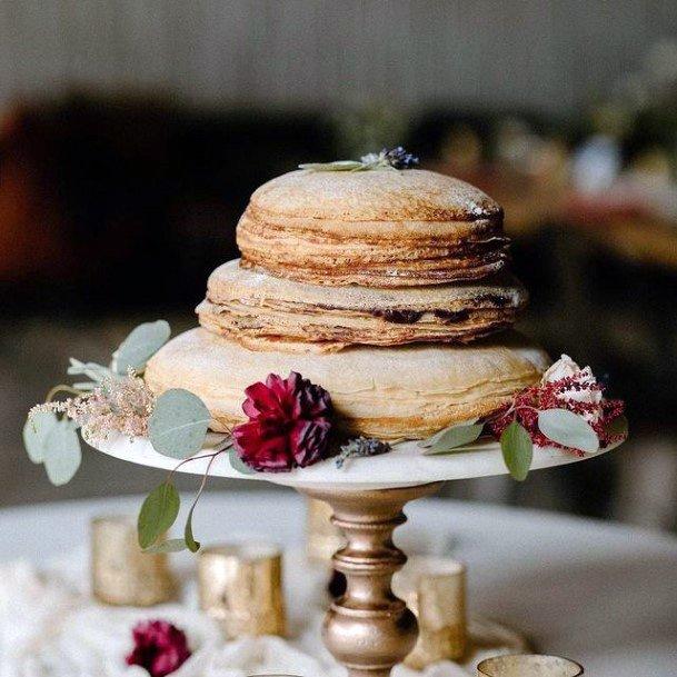 Simple But Unique Wedding Cakes