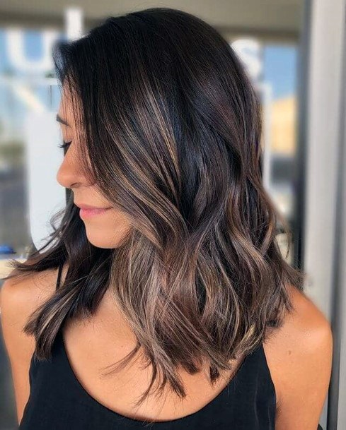 Simple Hairstyle Women Brown