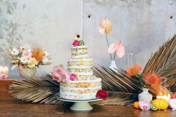Small Unique Wedding Cake