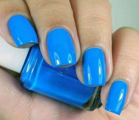 Smooth And Bright Nails Blue For Women