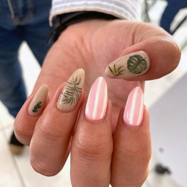 Smooth Tropical Nails Women