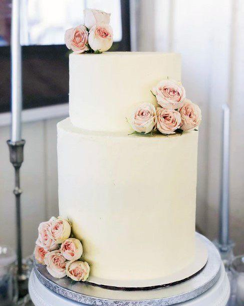 Smoothest White Red Velvet Wedding Cake