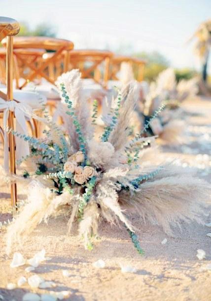Snow White Boho Wedding Flowers