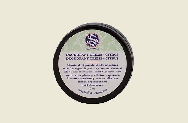 Soapwalla Deodorant Cream Women's Natural Deodorant