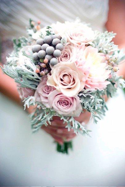 Sparkling Blush Rose Flowers Wedding