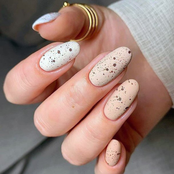 Sparkly April Nails Women