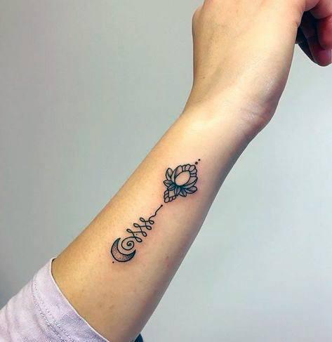 Spectacular Womens Wrist Tattoo