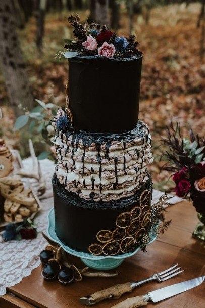 Spine Chilling Halloween Wedding Cake