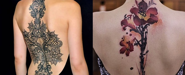 Top 100 Best Spine Tattoos For Women – Mentally Strong Designs