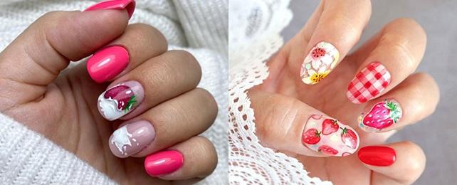 Top 50 Best Strawberry Nails For Women – Sweet Summer Ideas