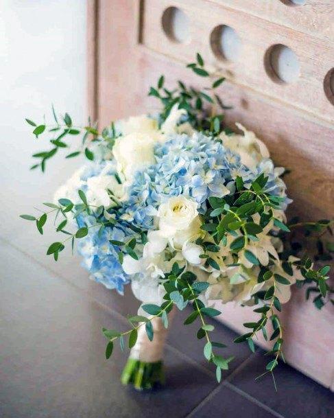 Stunning Bunch Of Hydrangea Wedding Flowers