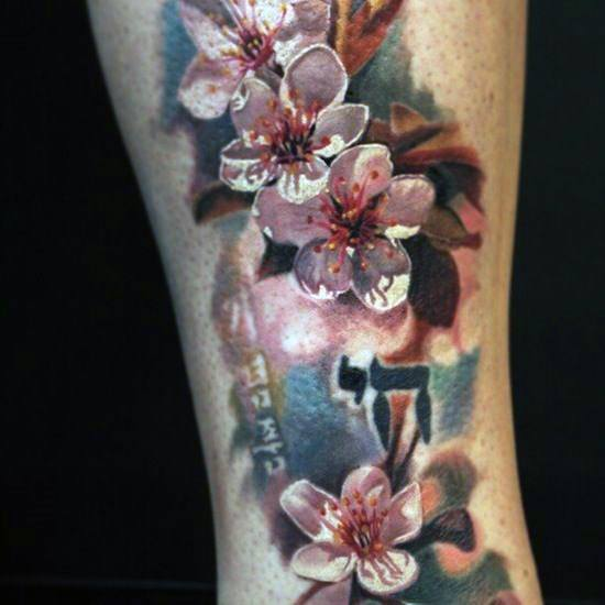 Stunning Cherry Blossom Tattoo For Women
