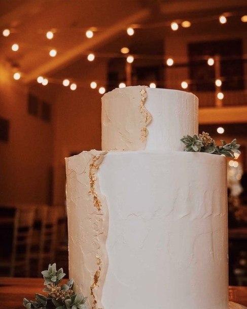 Stunning Huge White 2 Tier Wedding Cake