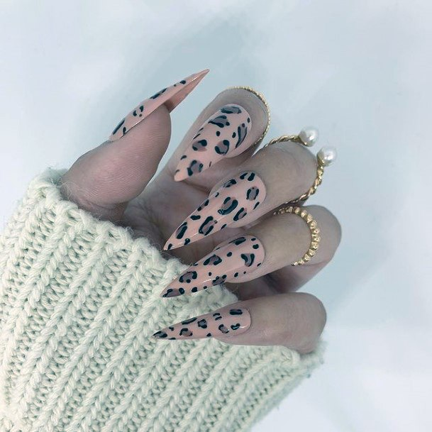 Stunning Leopard Nails For Women
