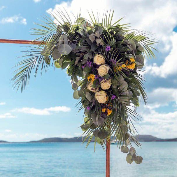 Sunny Beach Wedding Flowers