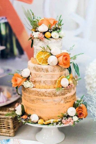 Sunny Womens Wedding 3 Tier Cake
