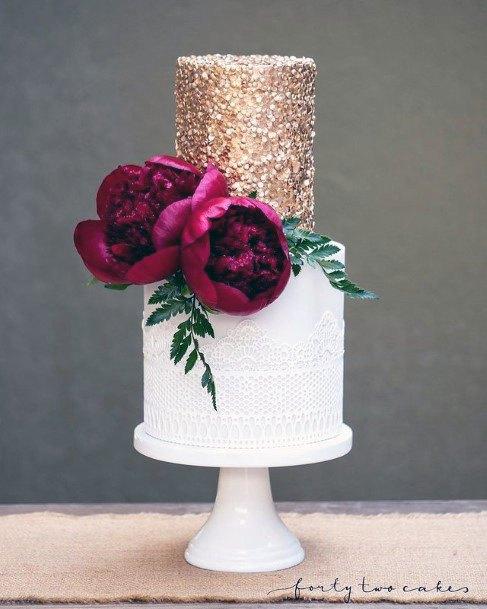 Superb Elegant Wedding Cake Women