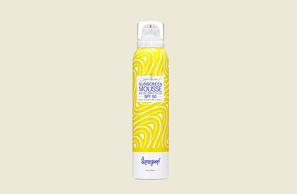 Supergoop! Super Power Mousse With Blue Seakale Sunscreen For Women