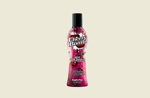 Supre Cherry Bomb Red Hot Dark Accelerator Indoor Tanning Lotion For Women