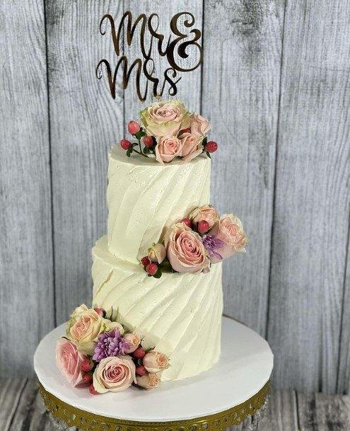 Supreme Buttercream Wedding Cake