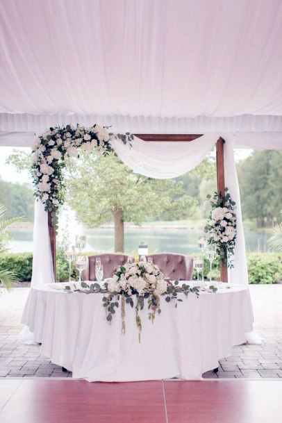 Sweet Heart Couch May Flower Wedding
