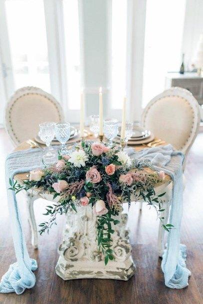 Sweet Heart Table May Wedding Flowers